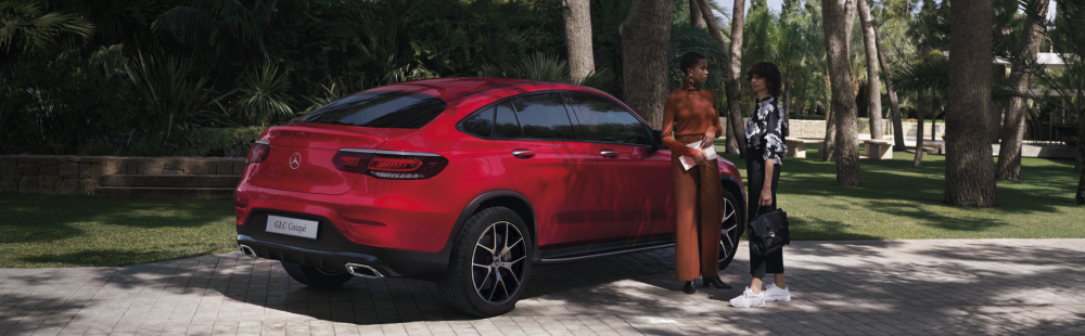 The new GLC Coupé.